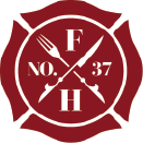 This is the restaurant logo for Firehouse 37