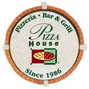This is the restaurant logo for Pizza House East Lansing