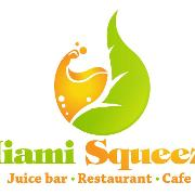 This is the restaurant logo for Miami Squeeze
