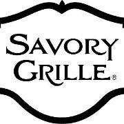 This is the restaurant logo for Savory Grille