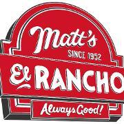 This is the restaurant logo for Matt's El Rancho