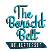This is the restaurant logo for The Borscht Belt