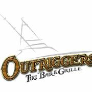 This is the restaurant logo for Outriggers