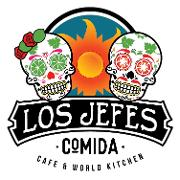 This is the restaurant logo for Los Jefes Comida