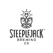 This is the restaurant logo for STEEPLEJACK BREWING CO