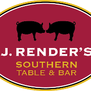 This is the restaurant logo for J. Render's Southern Table & Bar