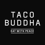 This is the restaurant logo for Taco Buddha