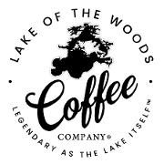 This is the restaurant logo for Lake of the Woods Coffee Company