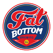 This is the restaurant logo for Fat Bottom Brewing