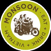 This is the restaurant logo for Monsoon Restaurant