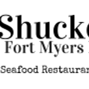 This is the restaurant logo for Shucker's at the Gulf Shore
