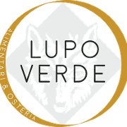 This is the restaurant logo for Lupo Verde Osteria