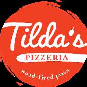 This is the restaurant logo for Tilda's Pizzeria