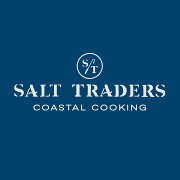 This is the restaurant logo for Salt Traders Coastal Cooking