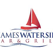 This is the restaurant logo for Thames Waterside Bar & Grill