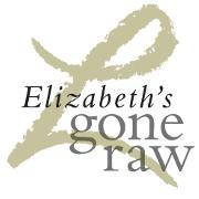 This is the restaurant logo for Elizabeth's Gone Raw