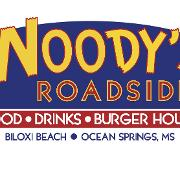 This is the restaurant logo for Woody's Roadside