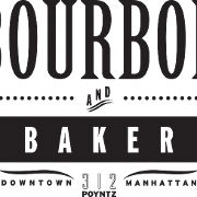 This is the restaurant logo for Bourbon and Baker