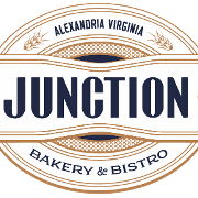 This is the restaurant logo for Junction Bakery & Bistro Alexandria