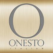 This is the restaurant logo for Onesto