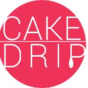 This is the restaurant logo for The Cake Drip