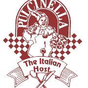 This is the restaurant logo for Pulcinella Restaurant