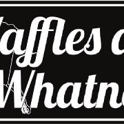 This is the restaurant logo for Waffles and Whatnot