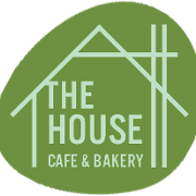 This is the restaurant logo for The House Cafe and Bakery