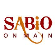 This is the restaurant logo for Sabio on Main