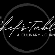 This is the restaurant logo for The Chefs Table Houston