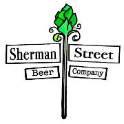 This is the restaurant logo for Sherman Street Beer Company