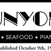 This is the restaurant logo for Runyon's