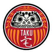 This is the restaurant logo for Taku Seattle