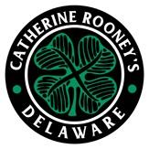 This is the restaurant logo for Catherine Rooney's
