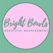 This is the restaurant logo for Bright Bowls