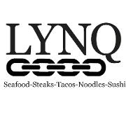 This is the restaurant logo for LYNQ