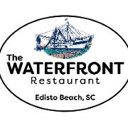 This is the restaurant logo for The Waterfront Restaurant