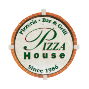 This is the restaurant logo for Pizza House Ann Arbor