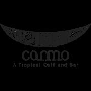 This is the restaurant logo for Carmo Restaurant & Bar
