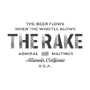 This is the restaurant logo for The Rake at Admiral Maltings