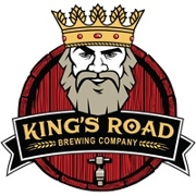 This is the restaurant logo for King's Road Brewing Company