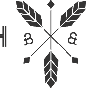 This is the restaurant logo for Batch & Brine