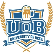 This is the restaurant logo for University of Beer