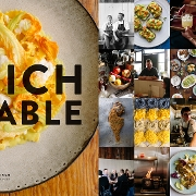 This is the restaurant logo for RICH TABLE