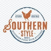This is the restaurant logo for Southern Style Kitchen & Cocktails