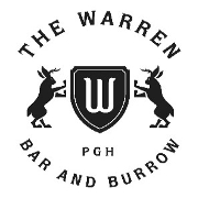 This is the restaurant logo for Penn Cove Eatery & The Warren