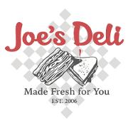 This is the restaurant logo for Joe's Deli