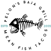 This is the restaurant logo for Pelons Baja Grill