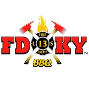 This is the restaurant logo for FDKY Barbecue