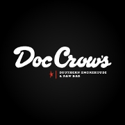 This is the restaurant logo for Doc Crow's Louisville